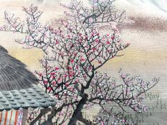 Japanese Antique Fukusa Textile Art Meiji Period - 1264800
