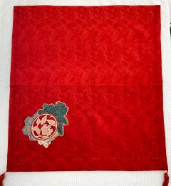 Japanese Antique Fukusa Textile Art Meiji Period - 1264803
