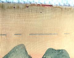 Japanese Antique Fukusa Textile Art Meiji Period - 1264806