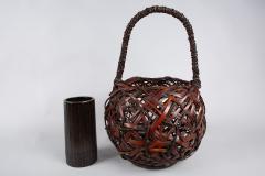 Japanese Antique Ikebana Flower Arranging Basket  - 1981329