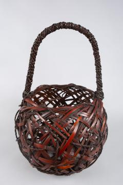 Japanese Antique Ikebana Flower Arranging Basket  - 1981498