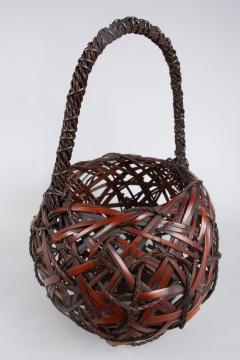 Japanese Antique Ikebana Flower Arranging Basket  - 1981499