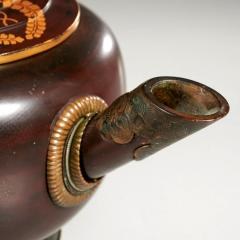 Japanese Antique Sake Ewer Lacquer with Bronze Meiji Period - 1768282