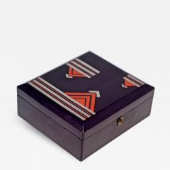 Japanese Black Lacquer Box - 1602725