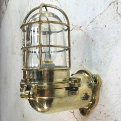 Japanese Brass Marine Wall Light - 971875