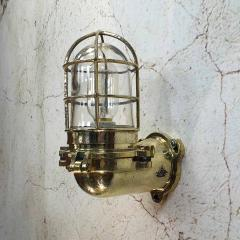 Japanese Brass Marine Wall Light - 971876