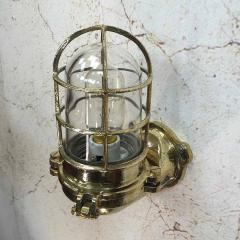Japanese Brass Marine Wall Light - 971880
