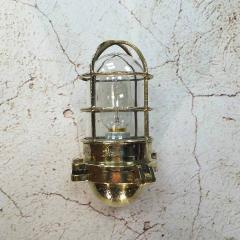 Japanese Brass Marine Wall Light - 971881