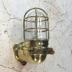 Japanese Brass Marine Wall Light - 971883