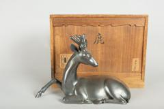 Japanese Bronze Stag With Third Eye - 1320067