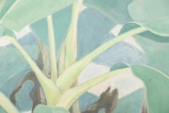 Japanese Four Panel Screen Banana Grove - 1499831