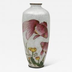 Japanese Ginbari Cloisonne Vase Meiji Period - 227431