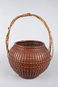 Japanese Ikebana Flower Arranging Basket by Teijo Sai - 1762384