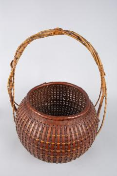 Japanese Ikebana Flower Arranging Basket by Teijo Sai - 1762395