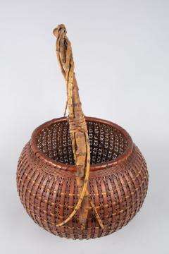 Japanese Ikebana Flower Arranging Basket by Teijo Sai - 1762396