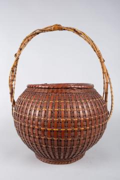 Japanese Ikebana Flower Arranging Basket by Teijo Sai - 1762397