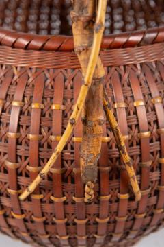 Japanese Ikebana Flower Arranging Basket by Teijo Sai - 1762398