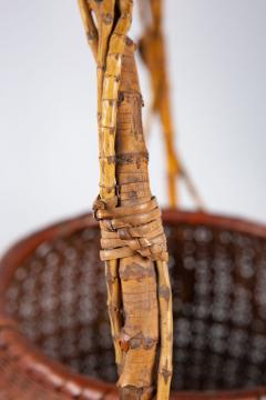 Japanese Ikebana Flower Arranging Basket by Teijo Sai - 1762403