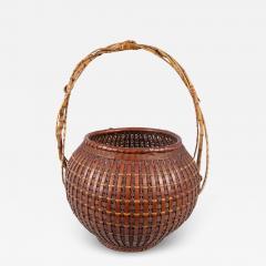 Japanese Ikebana Flower Arranging Basket by Teijo Sai - 1765789