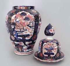 Japanese Imari Vase and Lid - 877705