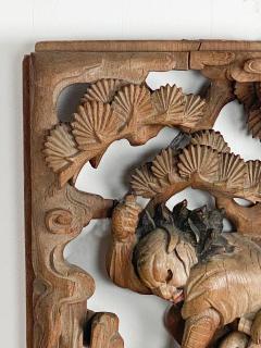 Japanese Keyaki Wood Carving - 2063037