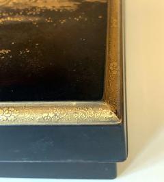 Japanese Lacquer Box with Fine Maki e Decoration Meiji Period - 1616844