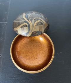 Japanese Lacquer Incense Kogo Box with Fine Maki e Design Meiji Period - 1808992
