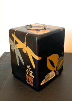 Japanese Lacquer Jewelry Box Rinpa School Meiji Period - 1598006