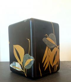 Japanese Lacquer Jewelry Box Rinpa School Meiji Period - 1598008