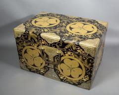 Japanese Lacquer Kimono Box - 735193