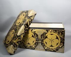 Japanese Lacquer Kimono Box - 735194