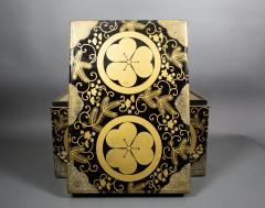 Japanese Lacquer Kimono Box - 735195