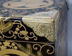 Japanese Lacquer Kimono Box - 735196