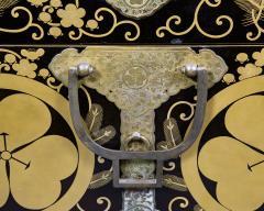 Japanese Lacquer Kimono Box - 735197