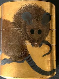 Japanese Lacquered Maki e Inro Shiomi Masanari Edo Period - 2114496
