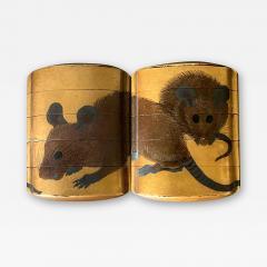 Japanese Lacquered Maki e Inro Shiomi Masanari Edo Period - 2116416