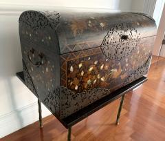 Japanese Namban Lacquer and Inlay Coffer Momoyama Period - 1188392