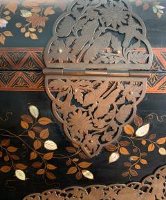 Japanese Namban Lacquer and Inlay Coffer Momoyama Period - 1188398