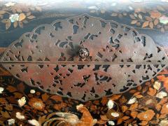 Japanese Namban Lacquer and Inlay Coffer Momoyama Period - 1188399