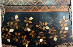 Japanese Namban Lacquer and Inlay Coffer Momoyama Period - 1188400