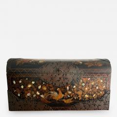 Japanese Namban Lacquer and Inlay Coffer Momoyama Period - 1192310