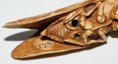 Japanese Netsuke of Cicada Signed - 315711
