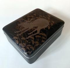 Japanese Rinpa Style Lacquer Box Meiji Period - 1615931
