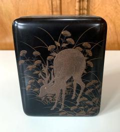 Japanese Rinpa Style Lacquer Box Meiji Period - 1615937