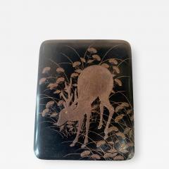 Japanese Rinpa Style Lacquer Box Meiji Period - 1618355