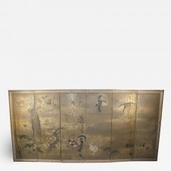 Japanese Screen Edo Period Circa 18th Century - 1719800