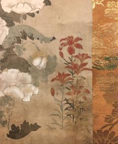 Japanese Scroll of Poppies - 748046
