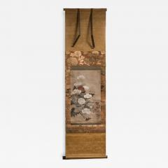 Japanese Scroll of Poppies - 749102