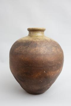 Japanese Shigaraki Grain Storage Jar - 1964314