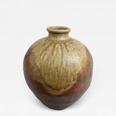 Japanese Shigaraki Grain Storage Jar - 1966482